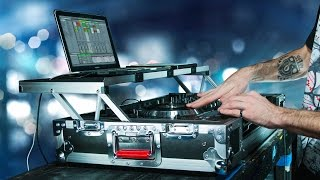 G-Tour DJ Controller Road Case with Sliding Laptop Platform