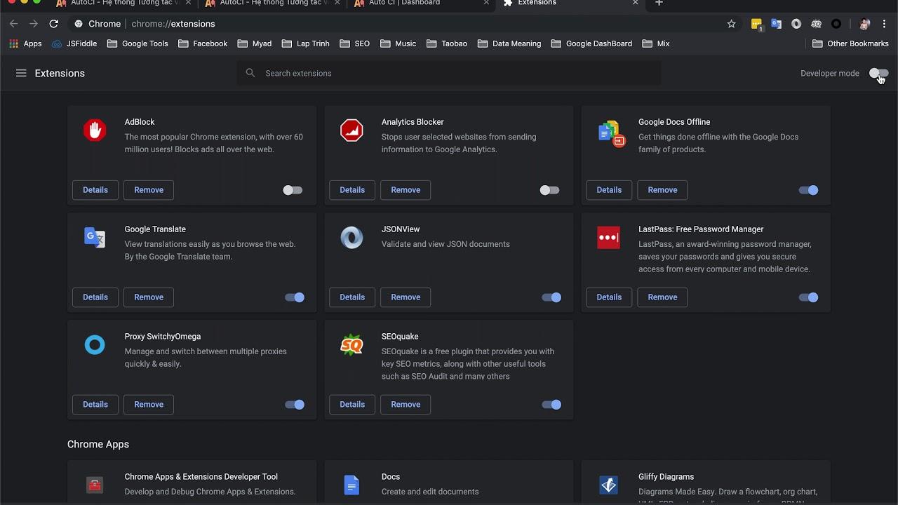 Get Login Code AutoCI - Chrome Web Store