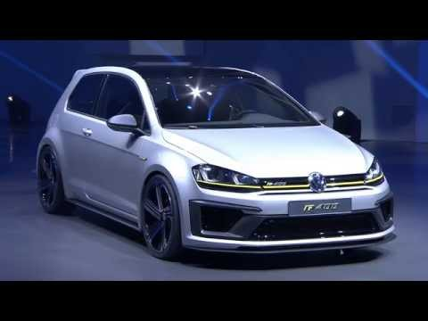 Volkswagen Golf R400 world premiere at Beijing top sports VW Golf model