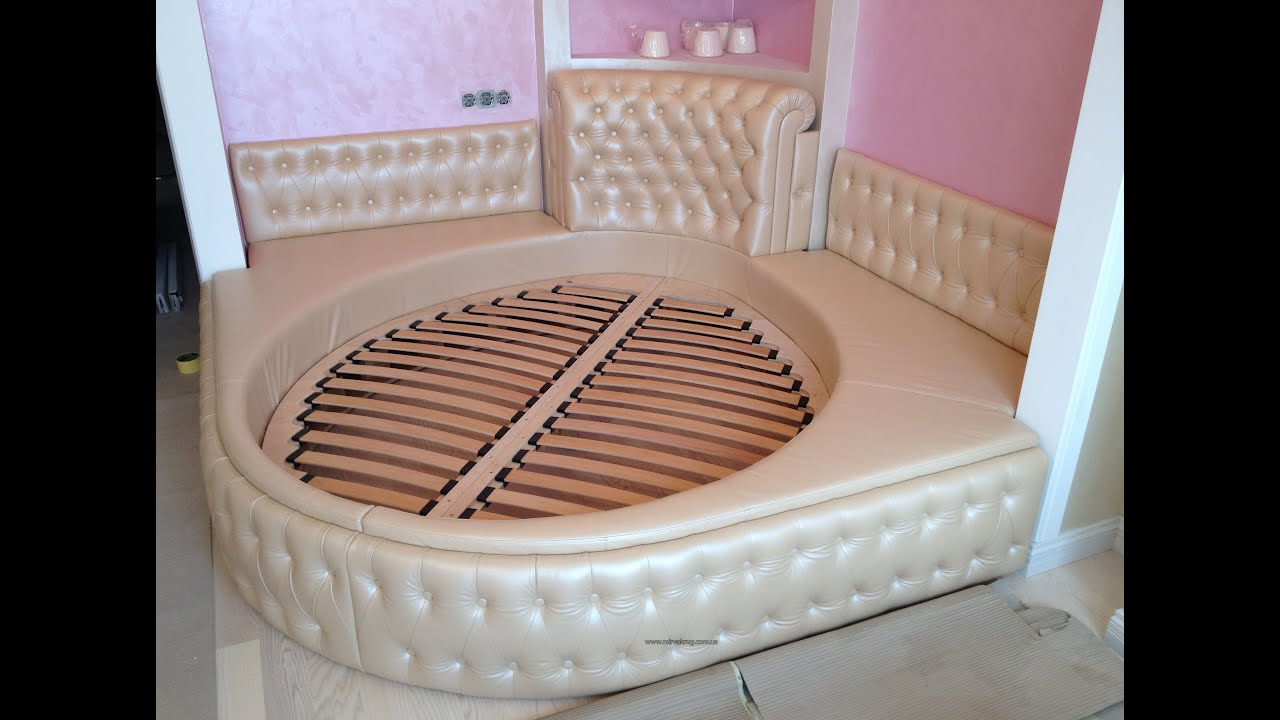 Round bed for children - YouTube
