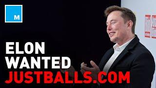 Elon Musk Tried To Buy JUSTBALLS.COM | [MASHABLE NEWS]