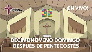 Decimonoveno Domingo Después de Pentecostés, Cristo El Salvador LCMS Del Rio, TX