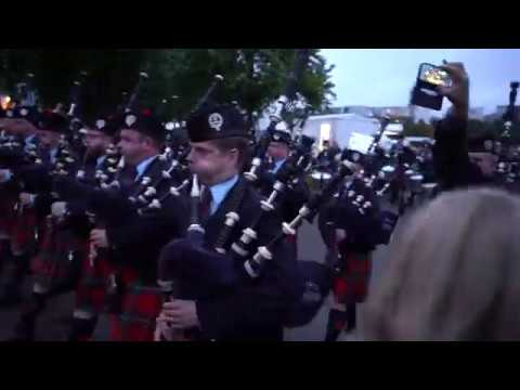 Worlds 2018 - Field Marshal Montgomery Pipe Band & D/M Emma Barr MARCH OFF AS WORLD CHAMPIONS!