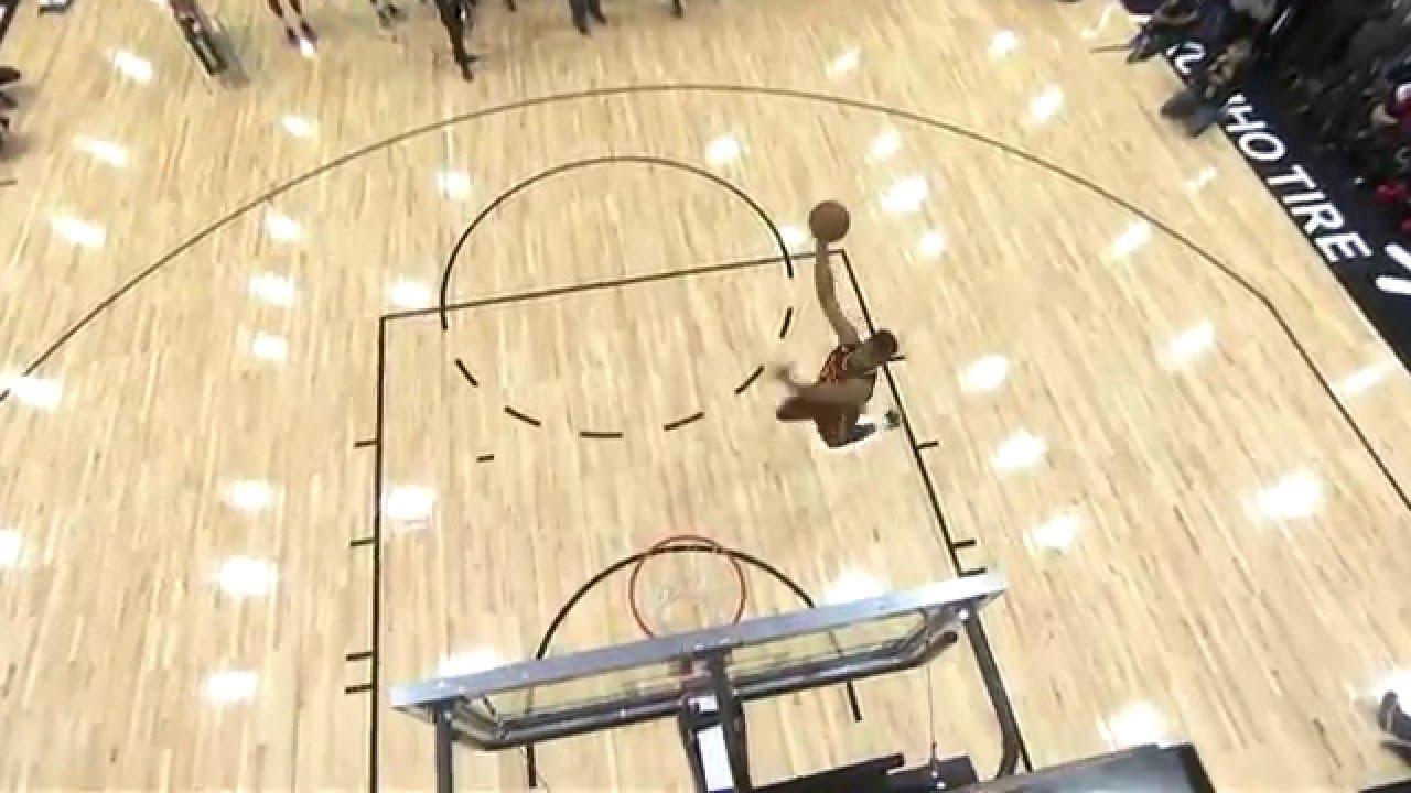 DJ Stephens Drops the Hammer at NBA D-League Dunk Contest!