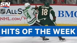 NHL Hits Of The Week: Tkachuk Lays Out Wilson