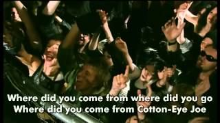 Rednex   Cotton Eye Joe 2002 Official 720p w HardCoded LYRICS