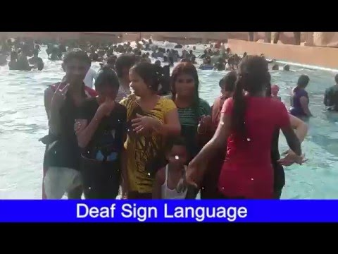 LDS Deaf SWIMMING POOL-  Wonderla Bangalore