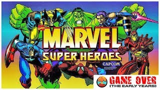 Game Over: Marvel Super Heroes (Arcade) - Defunct Games