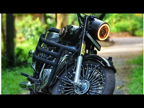 Royal Enfield modifications