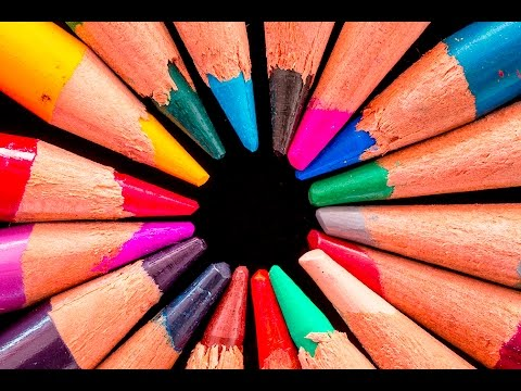 MACRO PHOTOGRAPHY TUTORIAL - Color Pencils Project...Tips And Tricks
