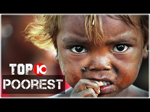 Top Poorest Countries YouTube - 10 poorest countries in the world 2016