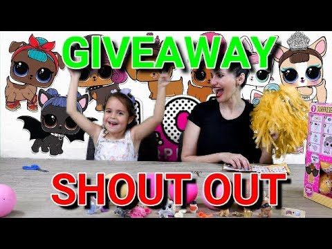GIVEAWAY!! - SHOUT OUT PRIZE WHEEL - WATCH and see if your a winner!