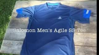 Salomon Mens Agile SS Tee