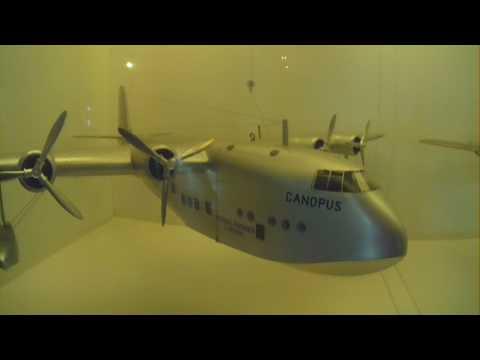 "Model Flying Boat ""CANOPUS"" Short Empire Imperial Airways"