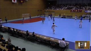 2019年IH ハンドボール 男子 決勝 香川中央(香川)VS 愛知(愛知)