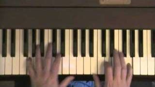 Watching The Wheels - John Lennon piano tutorial