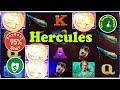 Hercules 95% slot machine, Nice Bonus