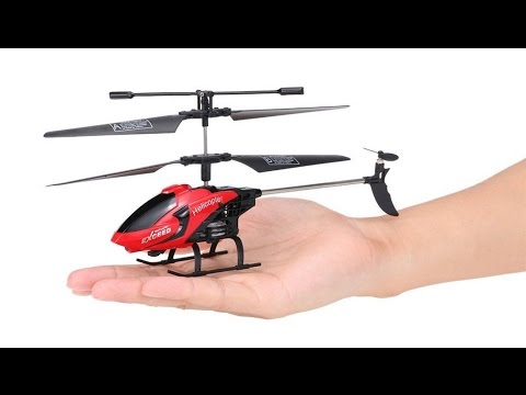 RC Infrared Helicopter with LED Light - Indoor / Outdoor Remote Control Helicopter