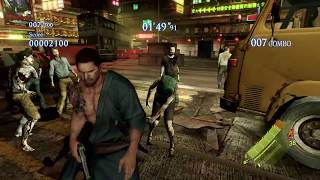 RESIDENT EVIL 6 Chris Redfield Costume B Gameplay In Mercenaries No Mercy