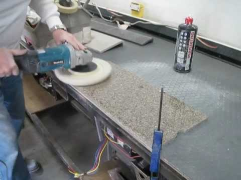 Part 2 Corian Countertop Scratch Repair Video