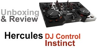 Hercules DJ Control Instinct - Unboxing & Review