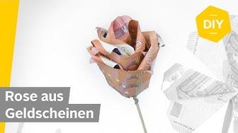 Geldscheine falten ROSE - für kreative Geldgeschenke | Roombeez powered by OTTO