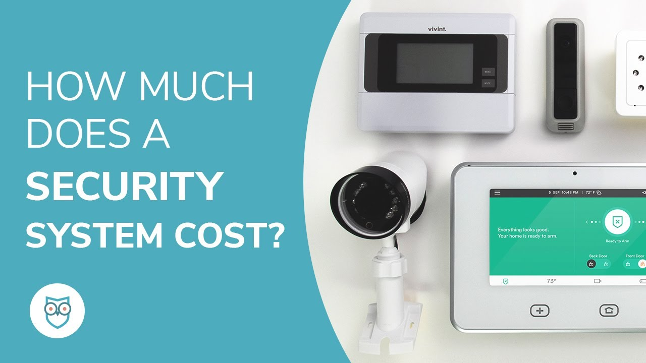 How Much Does A Security System Cost