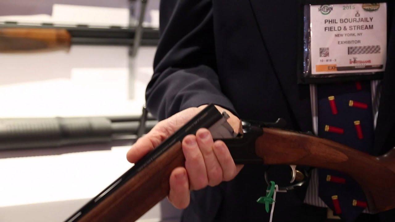 New Over/Under Shotgun: Stevens 555