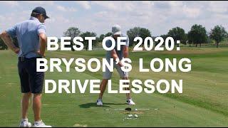 Best of 2020: Bryson DeChambeau's Long Drive Lesso...