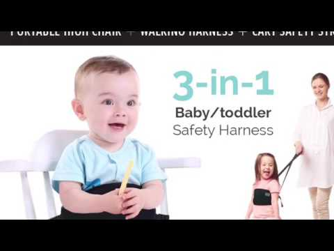 3-1 baby leash / high chair & cart safety strap