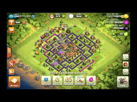 Clash Of Clans - Resource Collector Boost!!
