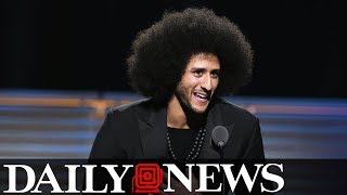 Kaepernick visits Rikers Island and sparks feud with CO union thumbnail