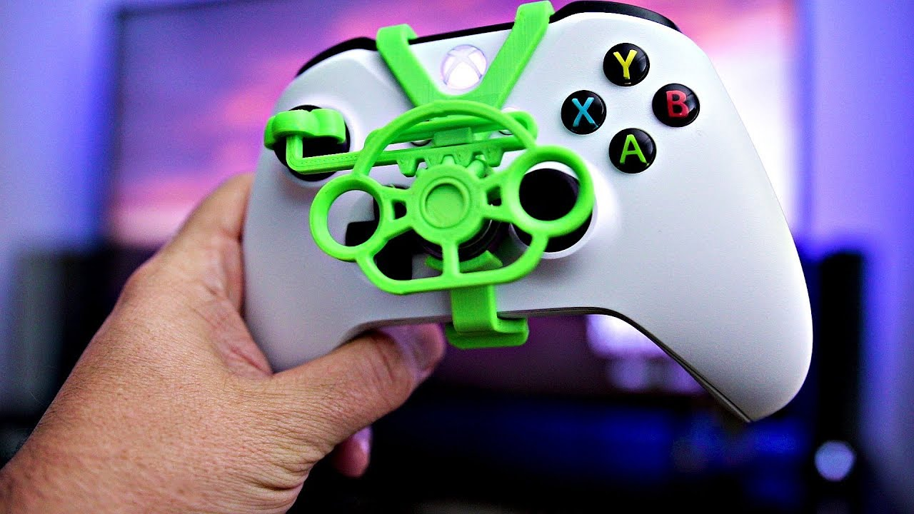 3D Printing an Xbox One Steering Wheel | 3D Printed Rack and Pinion  Steering Mini Wheel
