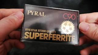 Pyral Superferrite Cassette - Type 0? Type 1? Type 3? What The Hell Is This?