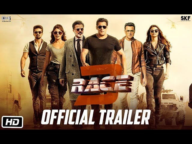 Race 3 | Official Trailer | Salman Khan | Remo Dsouza | Releasing on 15th June 2018 | #Race3ThisEID