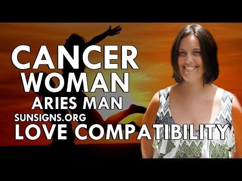 Aries woman dating cancer man 12