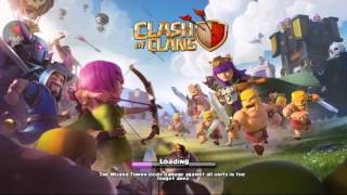 Me attacking in war 👍 Holy Bullet- Clash of Clans