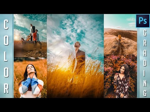 Color Grading Brown & Cyan in Photoshop | Camera Raw | Photo editing Tutorial thumbnail