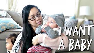 I Want A Baby! - April 11, 2017 -  ItsJudysLife Vlogs