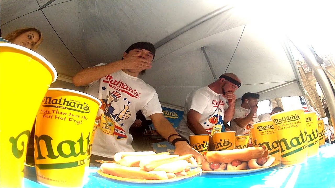Nathans Hot Dog Contest Qualifier