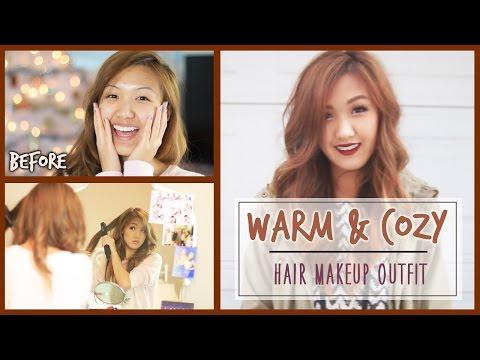 Warm & Cozy / Hair, Makeup, Outfit (under 20 minutes!) | ilikeweylie thumbnail