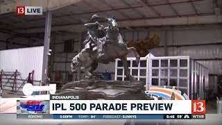 500 Festival Parade floats