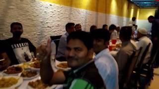 افطار پارٹی راجہ محمد اکرم صاحب کی طرف سے پاکستان کرکٹ ٹیم کے جیتنے کی خوشی میں