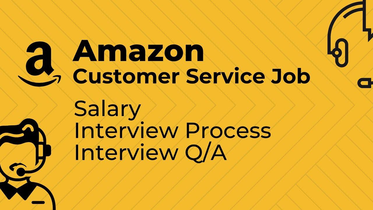 Amazon Customer Service Jobs Amazon Customer Service Interview Process Youtube