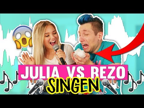 WER SINGT BESSER?!😳🎤 Julia Vs Rezo😱🎼