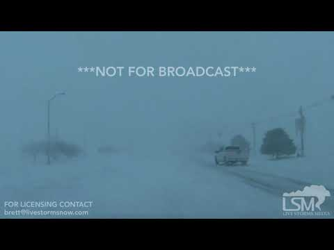 1-21-18, Goodland KS, Blizzard Conditions