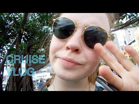 Cruise Vlog 2 | Sydney and Boarding