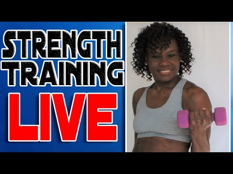 20 Minute Fun Strength Training For Women Over 50