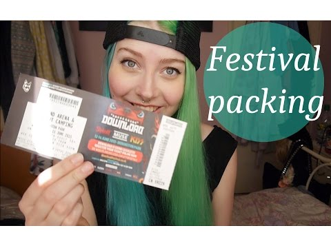 Festival Packing Guide / What to take to a Festival