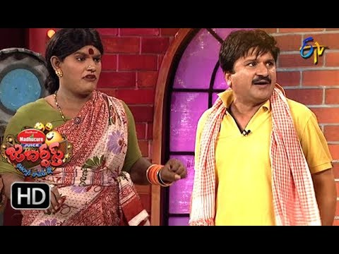Rocket Raghava Performance | Jabardasth |  23rd August 2018 | ETV  Telugu